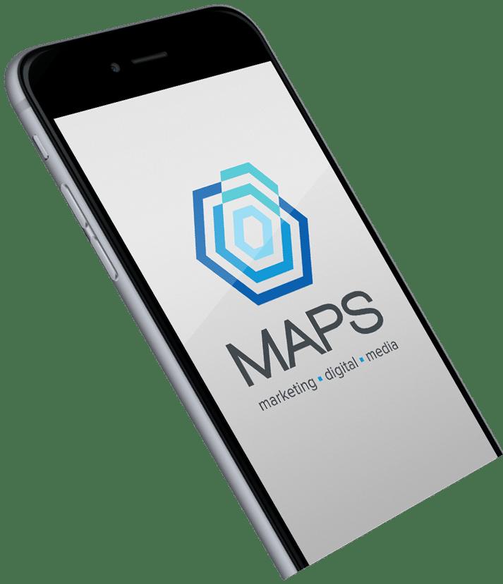 display maps logo